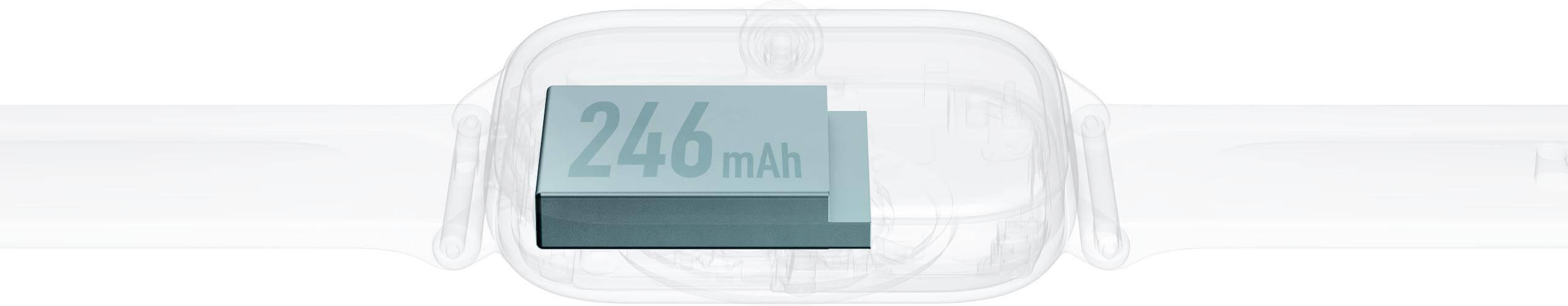 batteria 246 mAh